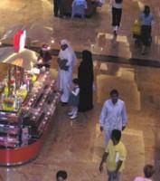 Freizeitvergnügen von Sheik und Sheikha: Shop 'til you drop