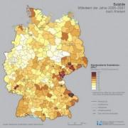 Weniger Suizide in Deutschland